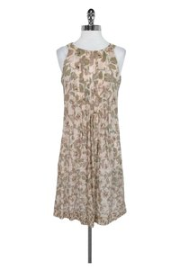 Paul Smith short dress Beige Pink Floral on Tradesy
