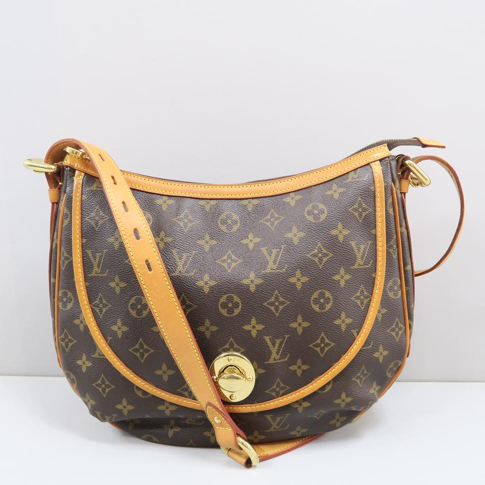 ee7d5f65b969 Louis Vuitton Tulum Gm Monogram Brown Canvas Shoulder Bag - Tradesy