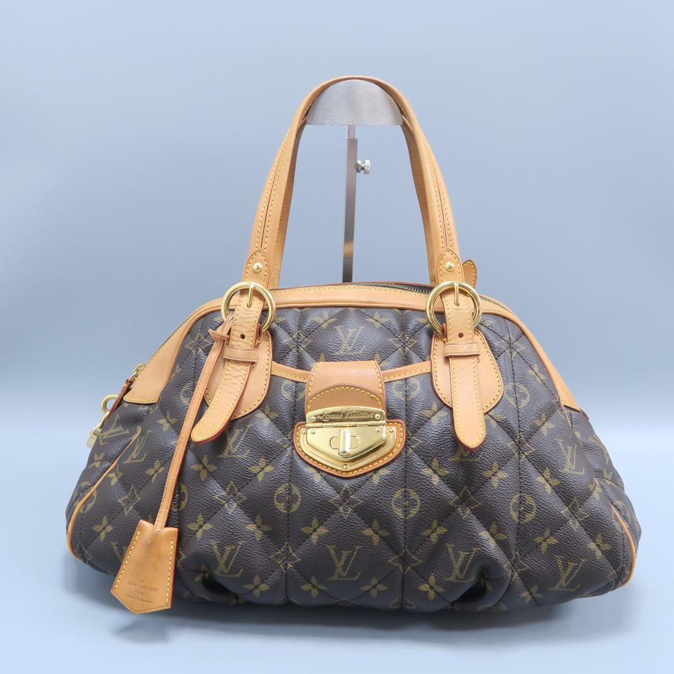694c9c9ea0e6 Louis Vuitton Etoile Monogram Bowling Brown Canvas Satchel - Tradesy