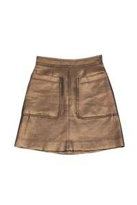 Marc by Marc Jacobs Bronze Shimmer Skirt