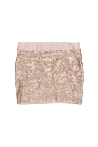 Elizabeth and James Rose Sequin Skirt Pink
