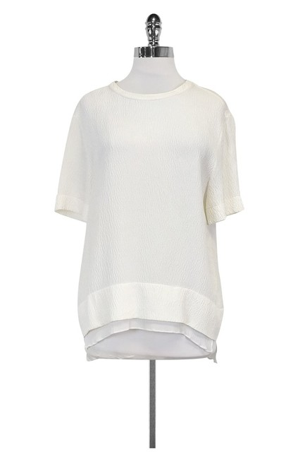 Item - White Activewear Top Size 8 (M)