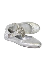 Tory Burch Embellished Travel silver Flats