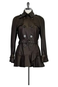Moschino Cheap Chic Leather brown Jacket