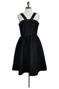 Kate Spade short dress Black Flared W/ Bow on Tradesy