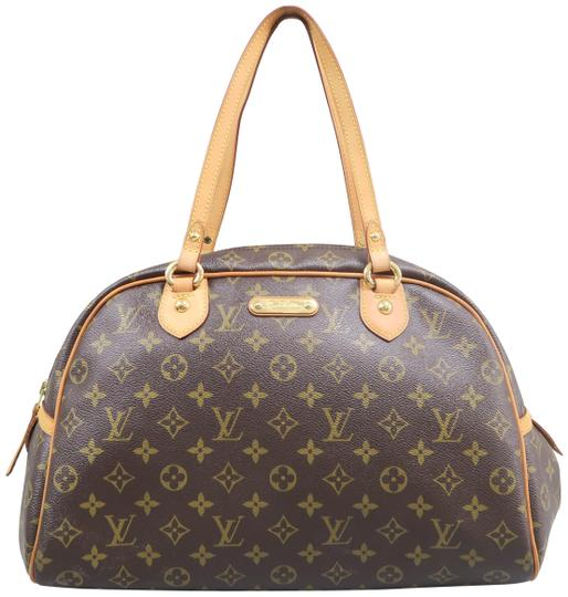 832bab42367e Louis Vuitton Montorgueil Gm Monogram Brown Canvas Shoulder Bag ...