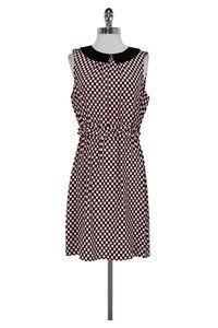 Kate Spade short dress Pink White Black Dotted on Tradesy