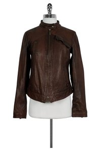 Cole Haan Leather brown Jacket