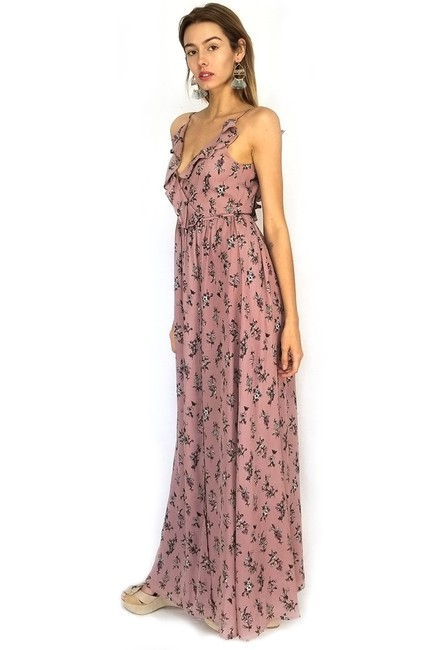Maxi Dress by She + Sky Enraptured With Straps Wrap Maxi Image 1