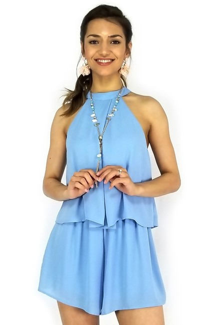 She + Sky High Neck Hurrah Halter Dress Image 1