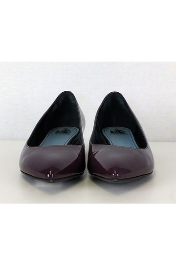 Lanvin Plum Patent Leather Purple Flats Image 1