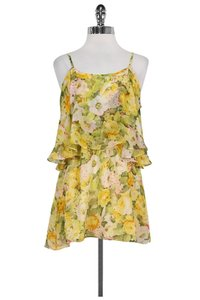 dbcb3ba3268b72 Lovers + Friends short dress yellow Floral on Tradesy