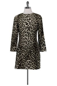 Rag & Bone short dress brown Leopard Print on Tradesy