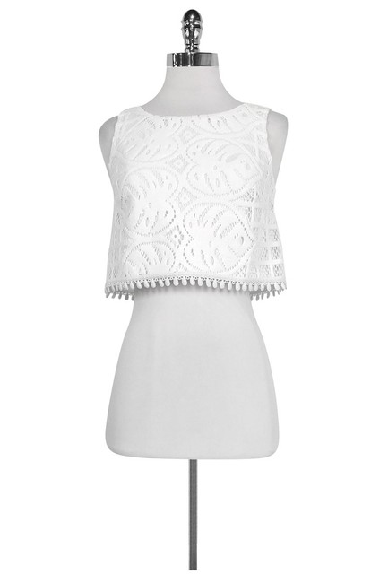 Item - White Activewear Top Size 0 (XS)
