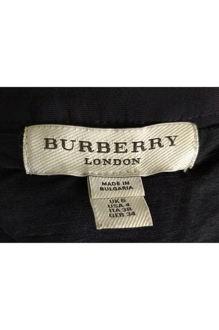 Burberry Ruched Pencil Skirt Black Image 2