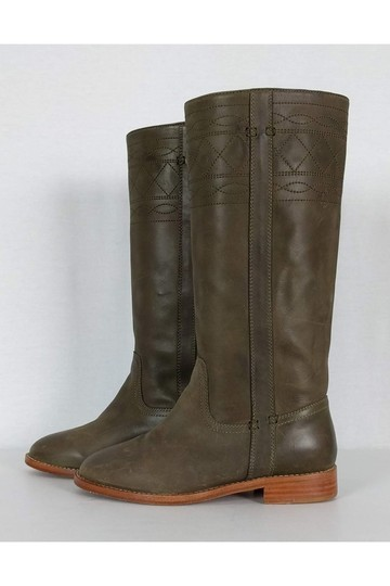 Joie Light Leather brown Boots Image 2