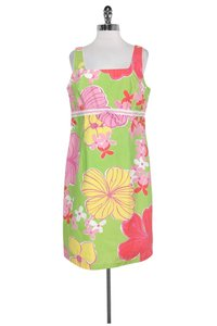 Lilly Pulitzer short dress Multicolor Floral on Tradesy