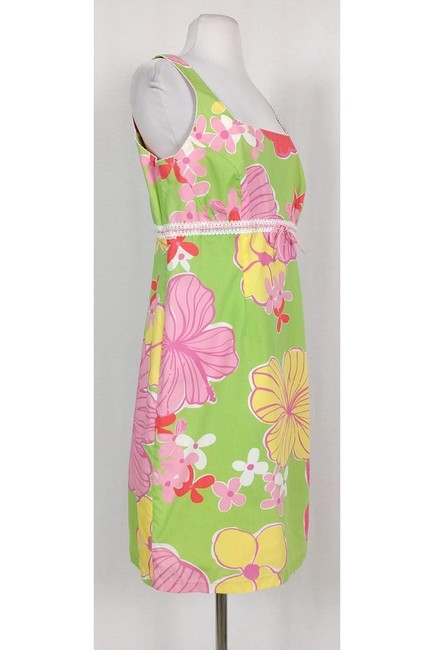 Lilly Pulitzer short dress Multicolor Floral on Tradesy Image 1