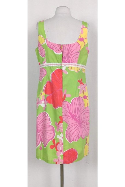 Lilly Pulitzer short dress Multicolor Floral on Tradesy Image 2