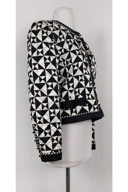 Escada Quilted And White black Jacket Image 1