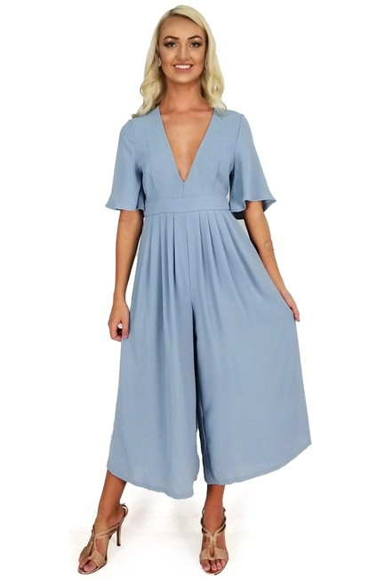 Preload https://img-static.tradesy.com/item/25213066/blue-romperjumpsuit-0-0-650-650.jpg