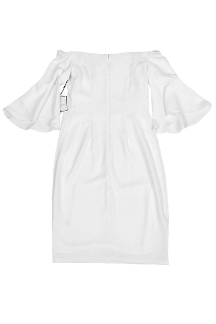 Laundry short dress White By Shelli Segal Offshoulder Bell Sleeve on Tradesy Image 1