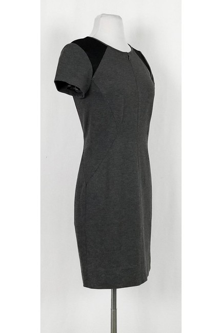 Diane von Furstenberg short dress Grey Mesh Fitted on Tradesy Image 1