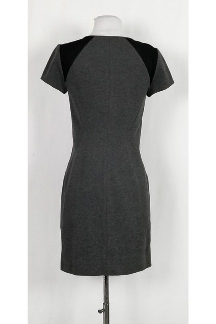 Diane von Furstenberg short dress Grey Mesh Fitted on Tradesy Image 2