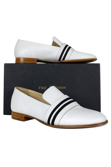 Rag & Bone Leather Amber Loafer White Pumps Image 0