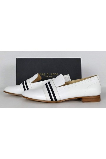 Rag & Bone Leather Amber Loafer White Pumps Image 2