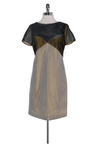 cbc31afef3e3 Carven short dress Navy White Netted on Tradesy