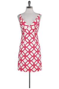 MILLY short dress Pink White Knot on Tradesy