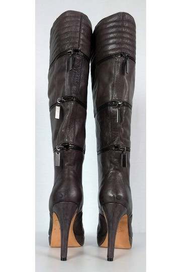 Geren Ford Leather Stone Tall brown Boots Image 3