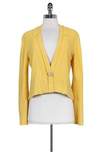 Chanel Pale Logo Yellow Jacket