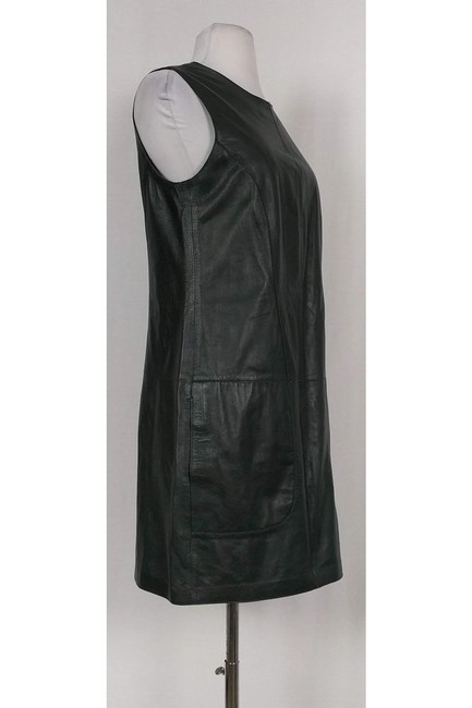 Vince short dress Green Hunter Lamb Leather on Tradesy Image 1