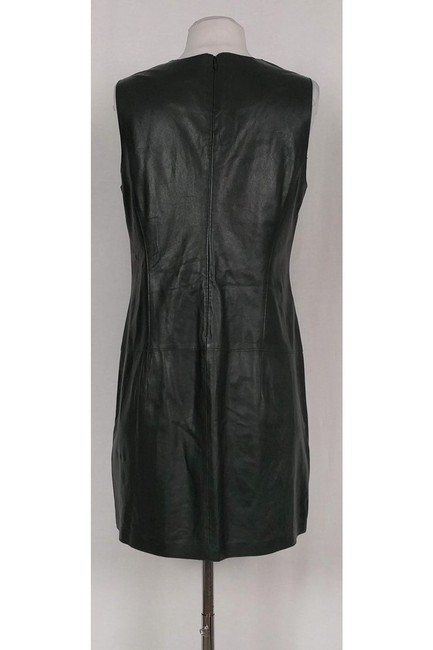 Vince short dress Green Hunter Lamb Leather on Tradesy Image 2