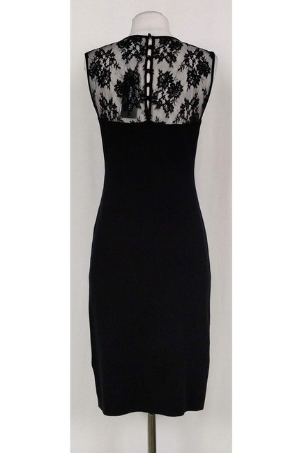 Ralph Lauren short dress Black Fitted Knit on Tradesy Image 2
