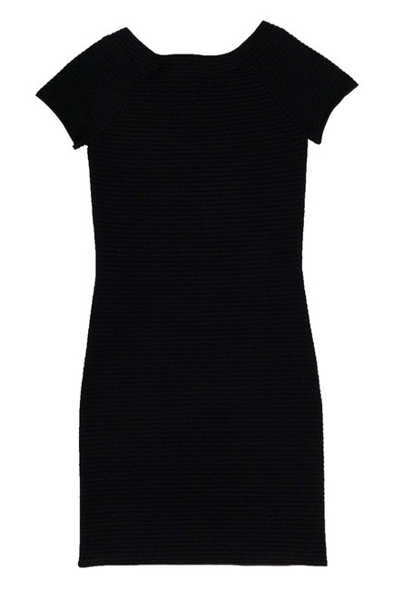 Alexander Wang short dress Black Ribbed Bodycon on Tradesy Image 1