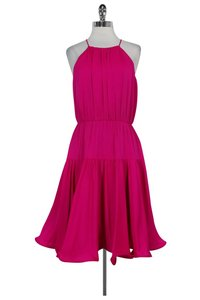 MILLY short dress pink Tiered Party on Tradesy