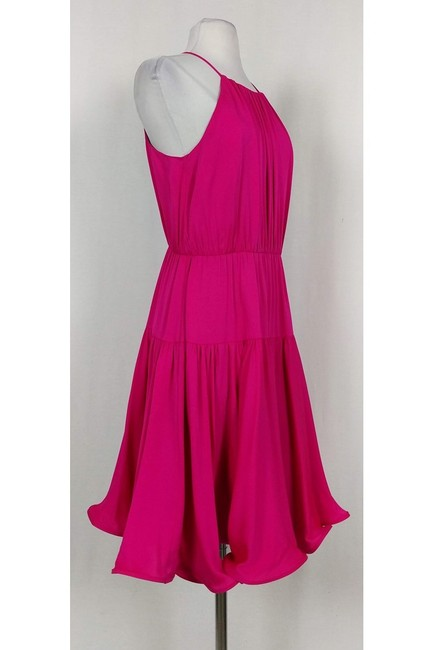 MILLY short dress pink Tiered Party on Tradesy Image 1