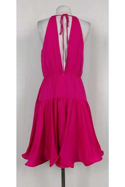 MILLY short dress pink Tiered Party on Tradesy Image 2