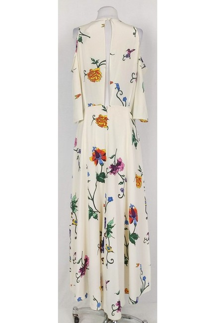 Maxi Dress by Tibi Cream And Floral Cold Shoulder Maxi Image 2