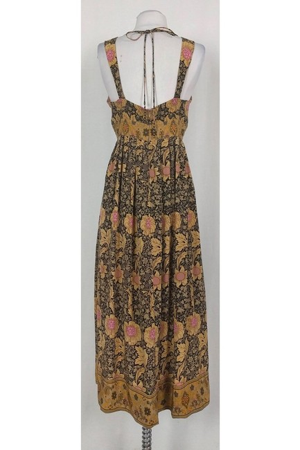 Maxi Dress by Tracy Reese Plenty By Tan Brown Floral Maxi Image 2