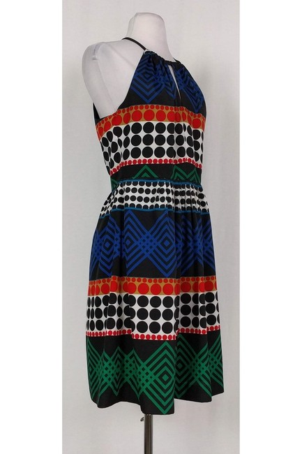 Trina Turk short dress black Multicolor Printed on Tradesy Image 1
