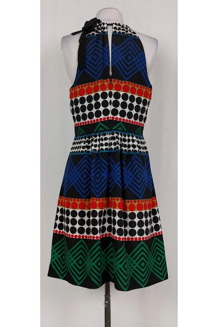 Trina Turk short dress black Multicolor Printed on Tradesy Image 2