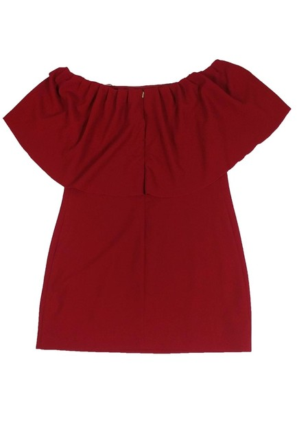 Trina Turk short dress red Off The Shoulder on Tradesy Image 1