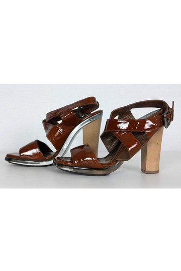 Marni Patent Leather brown Pumps Image 2
