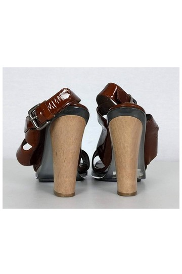 Marni Patent Leather brown Pumps Image 3