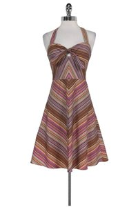 Trina Turk short dress Multicolor Halter on Tradesy