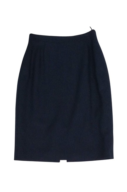 Burberry Navy Pencil Skirt Image 2